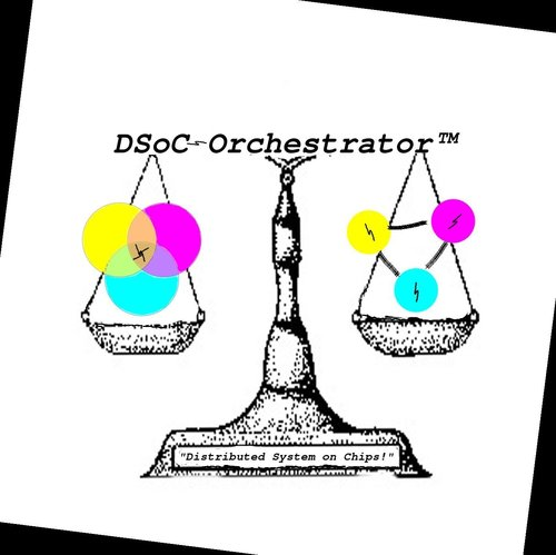 DSOC Orchestrator TM - DISTRIBUTED SYSTEMS ON CHIPS - Designed by Asher Bond for Elastic Provisioner, Inc.
